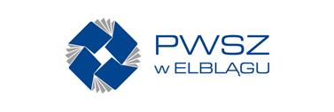 Logo PWSZ w Elblągu